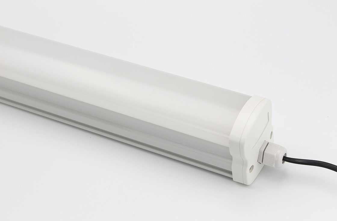 Commercial 1500mm LED Batten Lamp , Cool White LED Ready Batten Fitting CCT 2700K